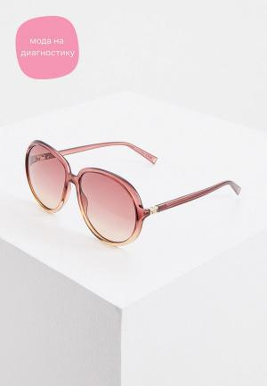 Очки солнцезащитные Givenchy. Цвет: розовый
