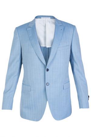 Пиджак Smalto. Цвет: голубой
