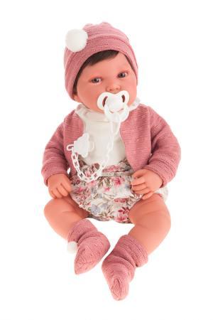 Кукла Сэнди в розовом ANTONIO JUAN. Цвет: розовый
