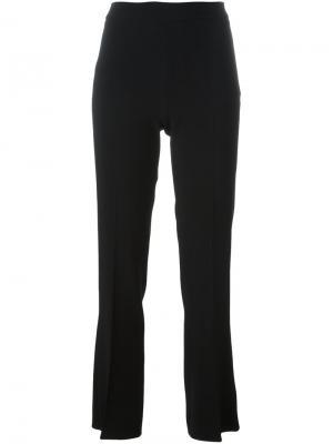 Расклешенные брюки Giambattista Valli. Цвет: чёрный