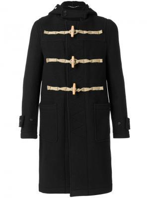 Пальто-дафлкот Givenchy. Цвет: чёрный