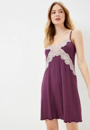 Сорочка ночная Дефиле. Цвет: фиолетовый