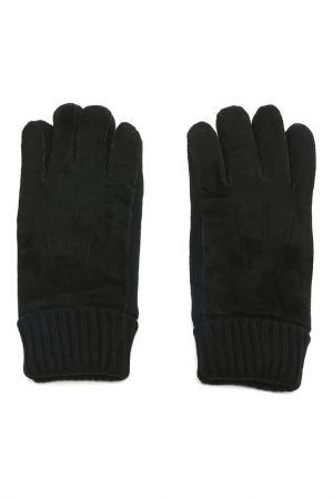 Перчатки MODO. Цвет: черный мужские