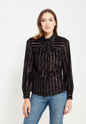 Блуза Fornarina. Цвет: черный