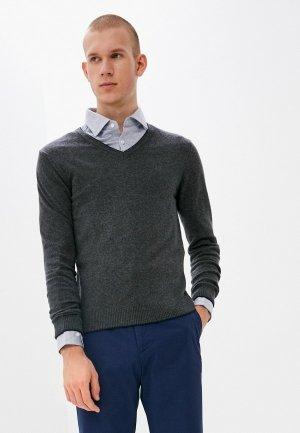 Пуловер Conte Of Florence. Цвет: серый