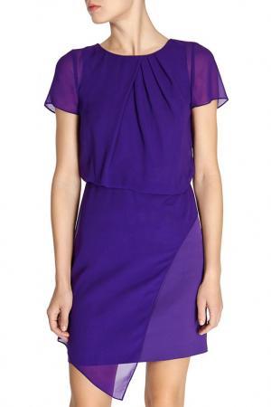 Платье KAREN MILLEN. Цвет: фиолетовый