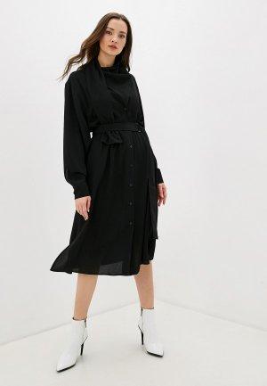 Платье Adolfo Dominguez. Цвет: черный