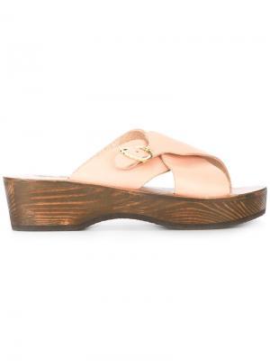 Сандалии Marilissa Ancient Greek Sandals. Цвет: телесный