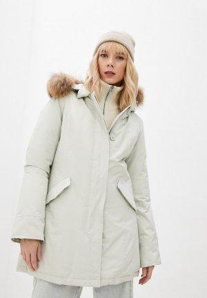 Куртка утепленная Canadian. Цвет: бежевый