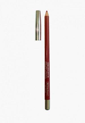 Карандаш для губ Mikatvonk. Цвет: коричневый