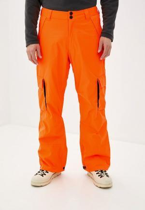 Брюки горнолыжные DC Shoes. Цвет: оранжевый