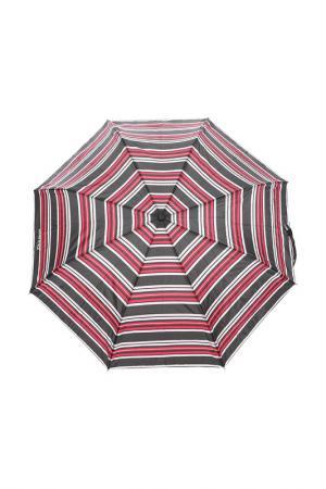 Зонт ISOTONER. Цвет: гранатовая полоса