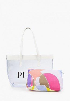Комплект Emilio Pucci. Цвет: разноцветный