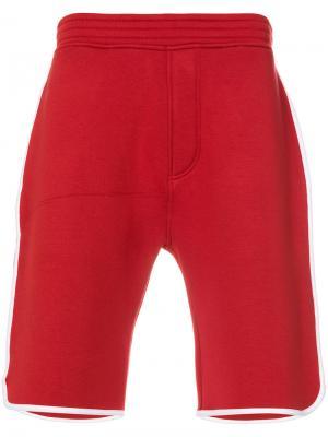 Баскетбольные шорты Neil Barrett. Цвет: красный