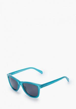 Очки солнцезащитные Invu. Цвет: бирюзовый