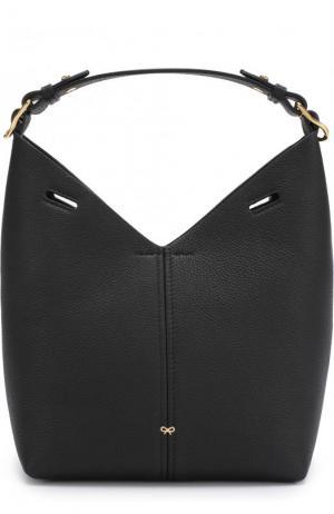Сумка Mini Build a Bag Anya Hindmarch. Цвет: черный