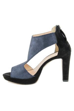 High heels sandals GIANNI GREGORI. Цвет: blue
