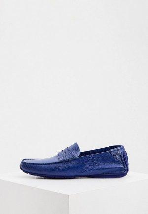 Мокасины Aldo Brue. Цвет: синий