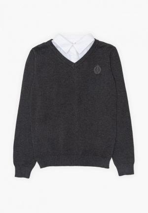 Пуловер Acoola. Цвет: серый