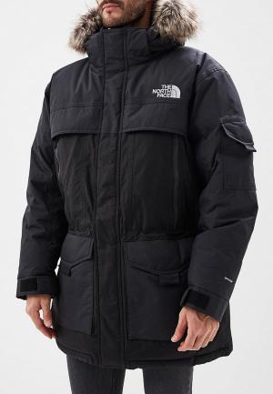 Пуховик The North Face. Цвет: черный