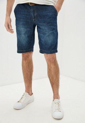 Шорты джинсовые Daniel Hechter. Цвет: синий