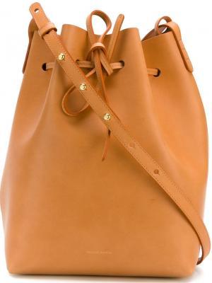 Большая сумка-мешок Mansur Gavriel. Цвет: многоцветный
