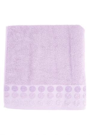 Полотенце махровое, 70х140 см BRIELLE. Цвет: пурпурный