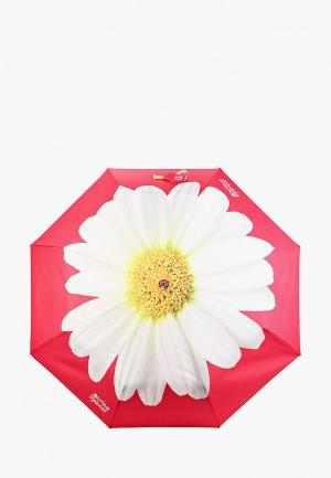 Зонт складной Boutique Moschino. Цвет: розовый