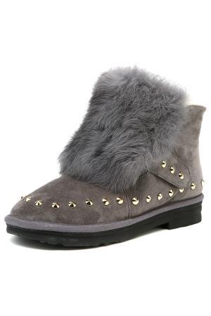 Ботинки GRACIANA. Цвет: серый