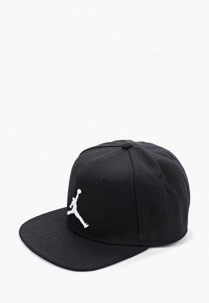 Бейсболка Jordan. Цвет: черный