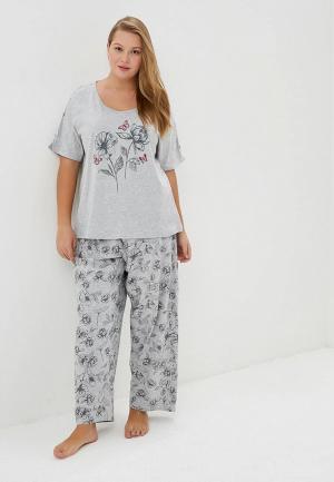 Пижама Evans. Цвет: серый