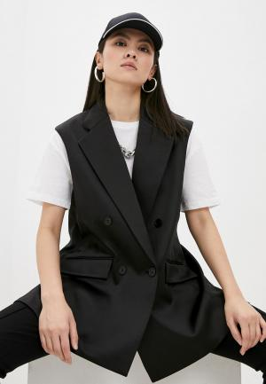 Жилет Karl Lagerfeld. Цвет: черный