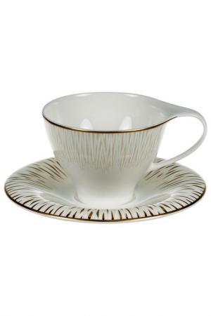 Чайная пара 6 шт. Royal Porcelain. Цвет: бежевый