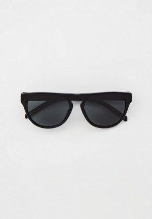 Очки солнцезащитные Arnette. Цвет: черный