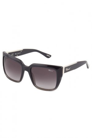 Солнцезащитные очки CHOPARD. Цвет: серый