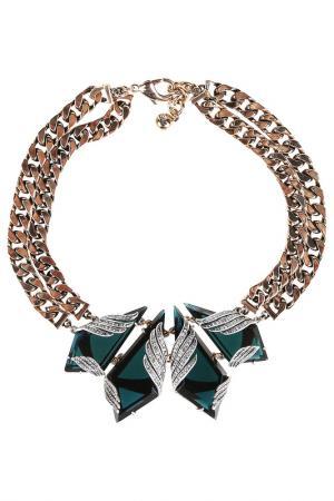 Ожерелье Lulu frost. Цвет: золотой