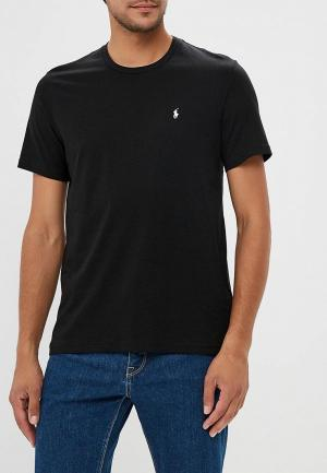 Футболка домашняя Polo Ralph Lauren. Цвет: черный