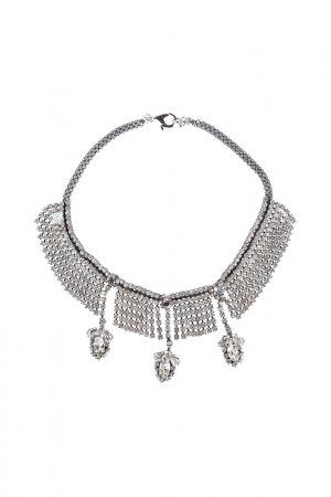 Ожерелье RADA. Цвет: серебряный