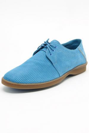 Туфли ALEXANDER HOTTO. Цвет: синий
