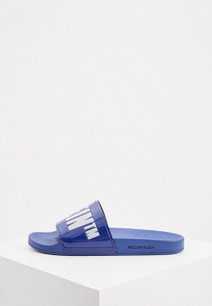 Сланцы Philipp Plein. Цвет: синий