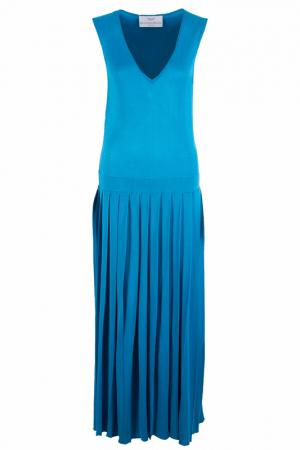 Платье FRANCESCA PICCINI. Цвет: голубой