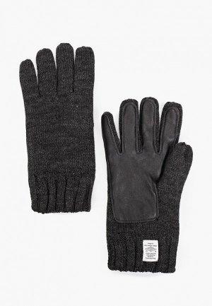 Перчатки Pepe Jeans. Цвет: серый