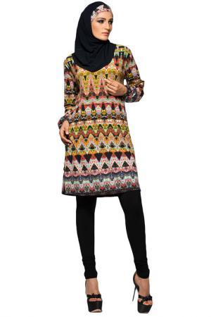 Буркини Lora Grig. Цвет: черный