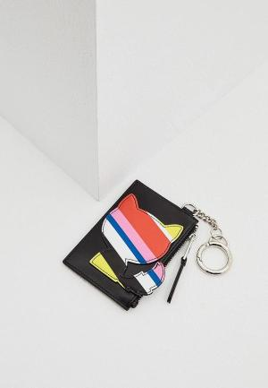 Ключница Karl Lagerfeld. Цвет: черный