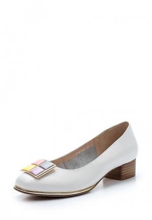 Туфли Balex. Цвет: белый
