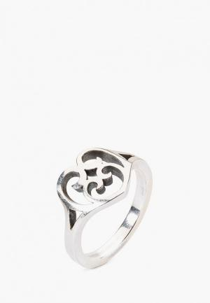 Кольцо из серебра 925 пробы Trollbeads. Цвет: серебряный