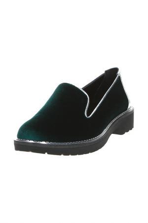 Туфли DAKKEM. Цвет: зеленый