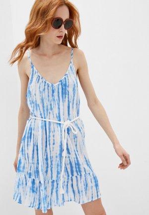 Платье пляжное Michael Kors. Цвет: голубой
