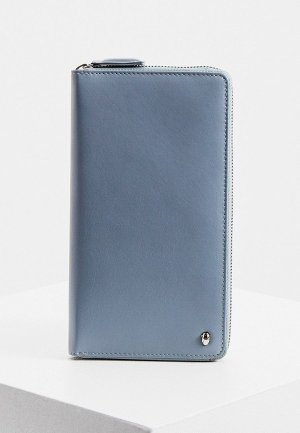 Кошелек Cavalli Class. Цвет: голубой