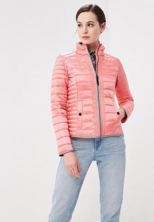 Куртка утепленная Five Seasons. Цвет: розовый